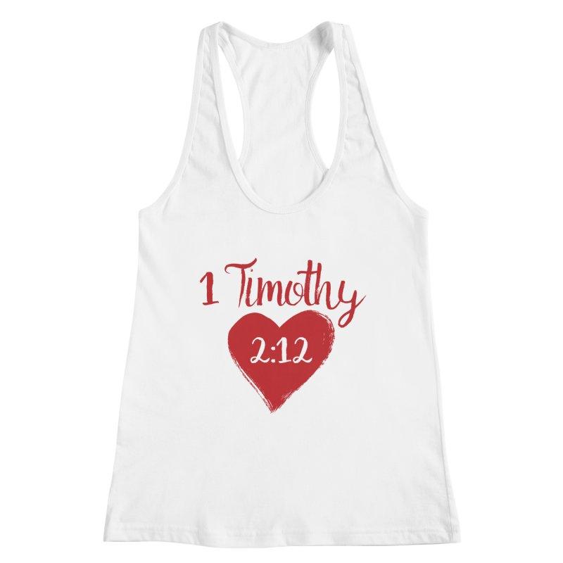 1 Timothy 2:12 Women's Tank by grundy's Artist Shop