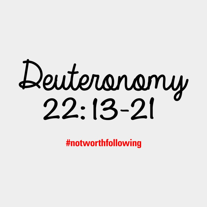Deuteronomy 22: 13-21 None  by grundy's Artist Shop