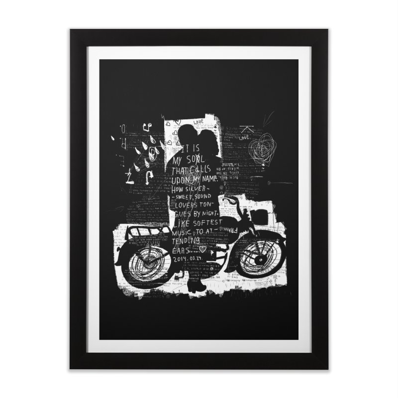 Lovers Home Framed Fine Art Print by gruv7's Artist Shop