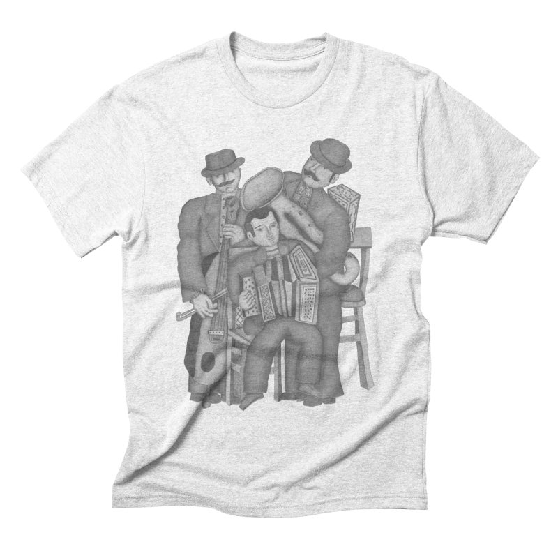 Musical orchestra Men's Triblend T-shirt by gruv7's Artist Shop