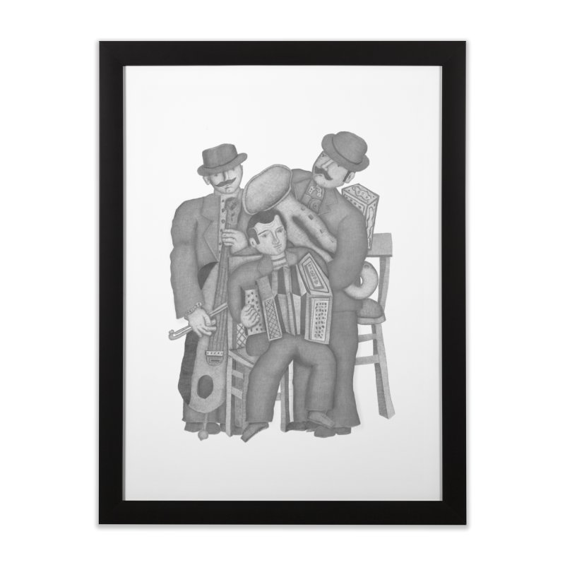 Musical orchestra Home Framed Fine Art Print by gruv7's Artist Shop