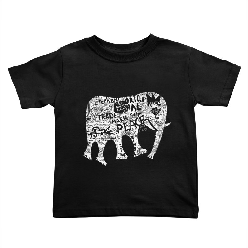 Elephant Kids Toddler T-Shirt by gruv7's Artist Shop
