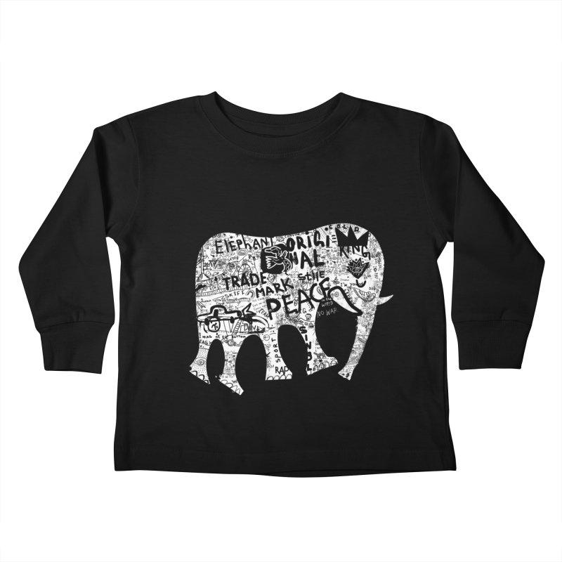 Elephant Kids Toddler Longsleeve T-Shirt by gruv7's Artist Shop