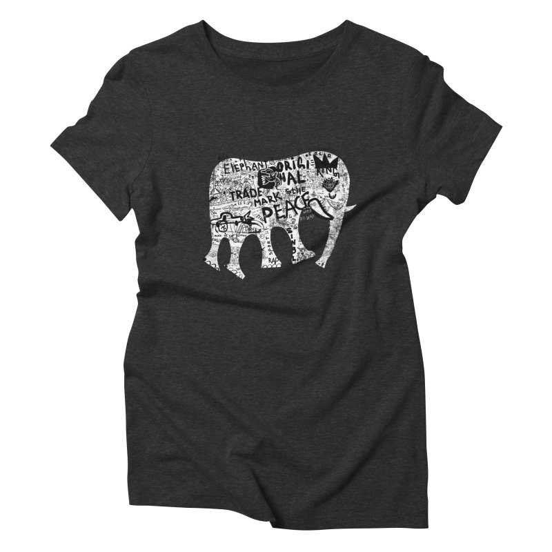Elephant Women's Triblend T-Shirt by gruv7's Artist Shop