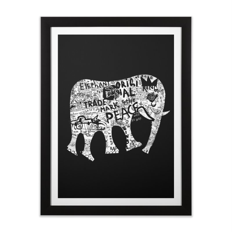 Elephant Home Framed Fine Art Print by gruv7's Artist Shop