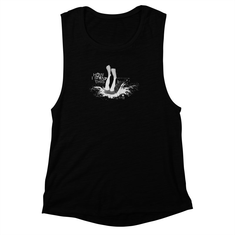 "Diver (Translated from the Chinese - "" diver "") Women's Muscle Tank by gruv7's Artist Shop"