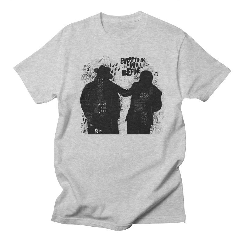 Friends Men's T-Shirt by gruv7's Artist Shop