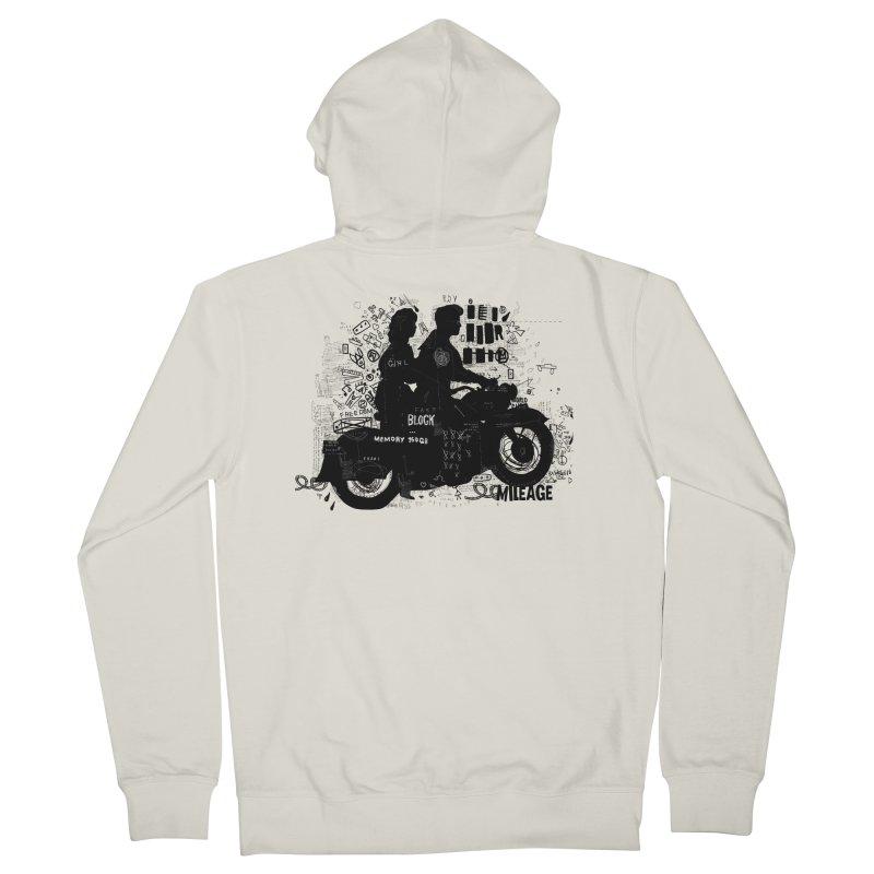Motorcycle Men's Zip-Up Hoody by gruv7's Artist Shop