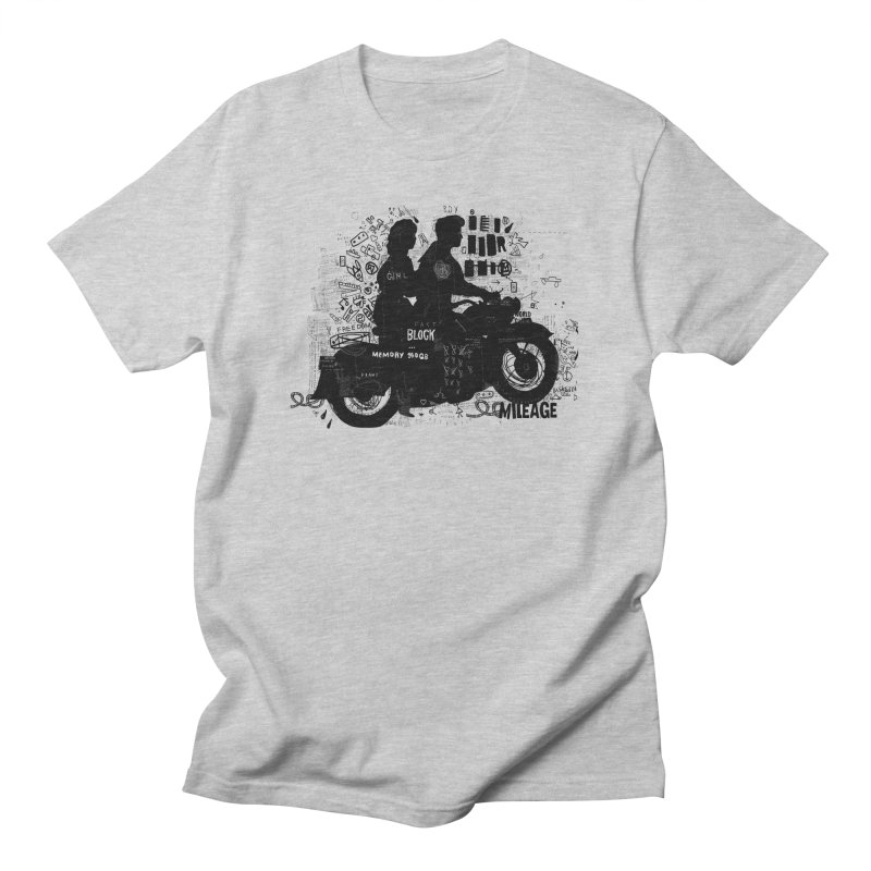Motorcycle Men's T-shirt by gruv7's Artist Shop