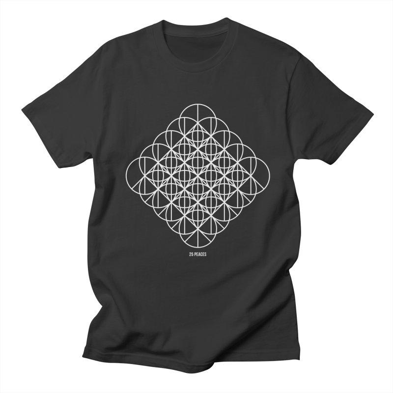 25 Peaces Men's Regular T-Shirt by grzechotnick's Artist Shop