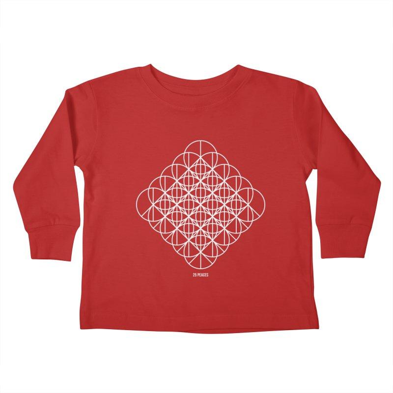 25 Peaces Kids Toddler Longsleeve T-Shirt by grzechotnick's Artist Shop
