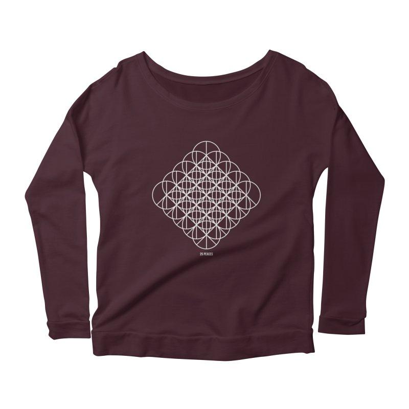 25 Peaces Women's Scoop Neck Longsleeve T-Shirt by grzechotnick's Artist Shop