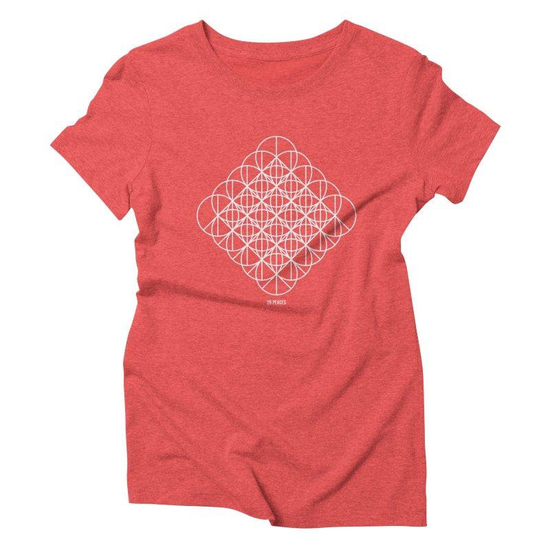 25 Peaces Women's Triblend T-Shirt by grzechotnick's Artist Shop
