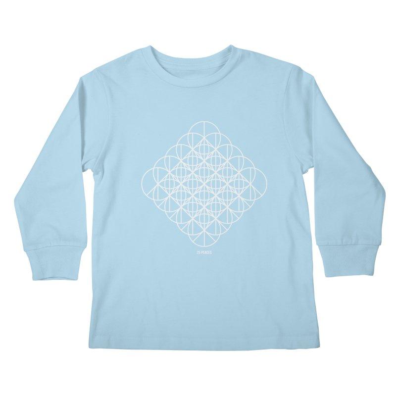 25 Peaces Kids Longsleeve T-Shirt by grzechotnick's Artist Shop