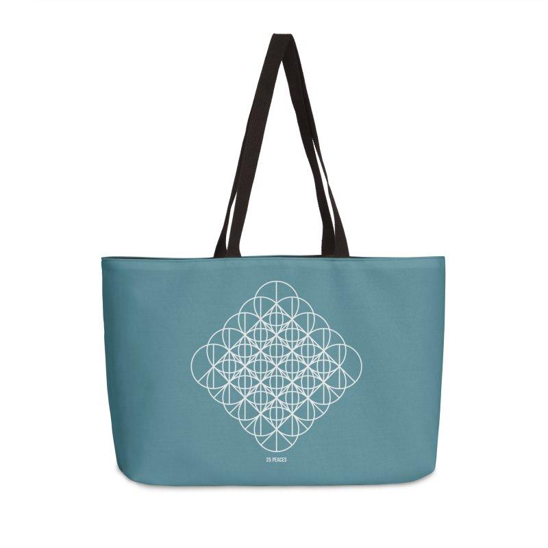 25 Peaces Accessories Weekender Bag Bag by grzechotnick's Artist Shop