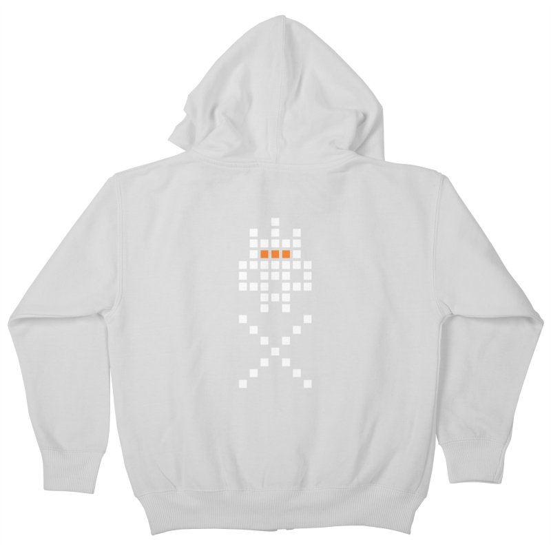 49 Squares Kids Zip-Up Hoody by grzechotnick's Artist Shop