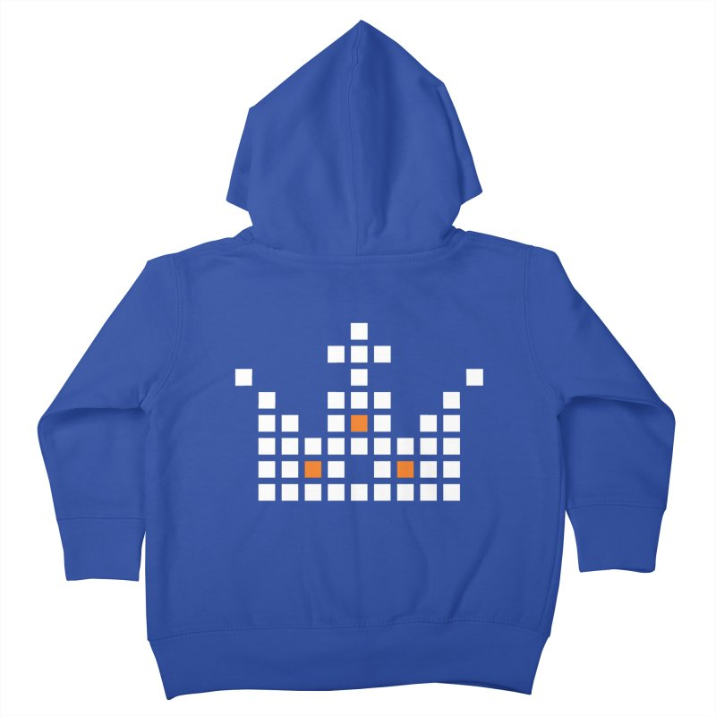 45 Squares Kids Toddler Zip-Up Hoody by grzechotnick's Artist Shop