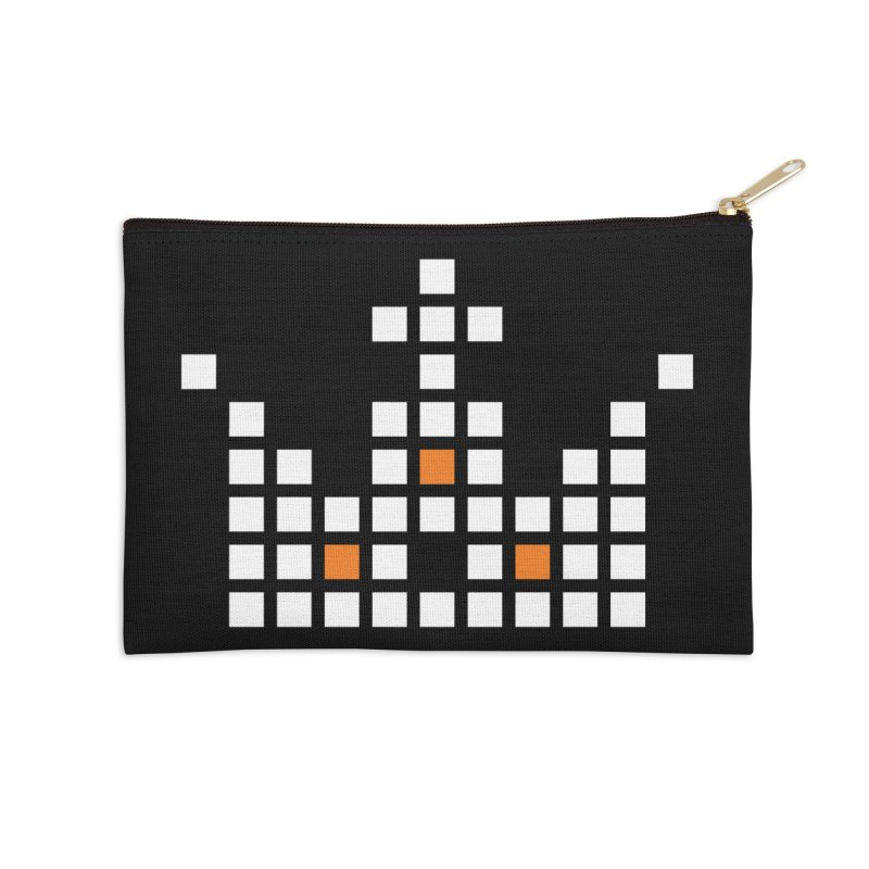 45 Squares Accessories Zip Pouch by grzechotnick's Artist Shop