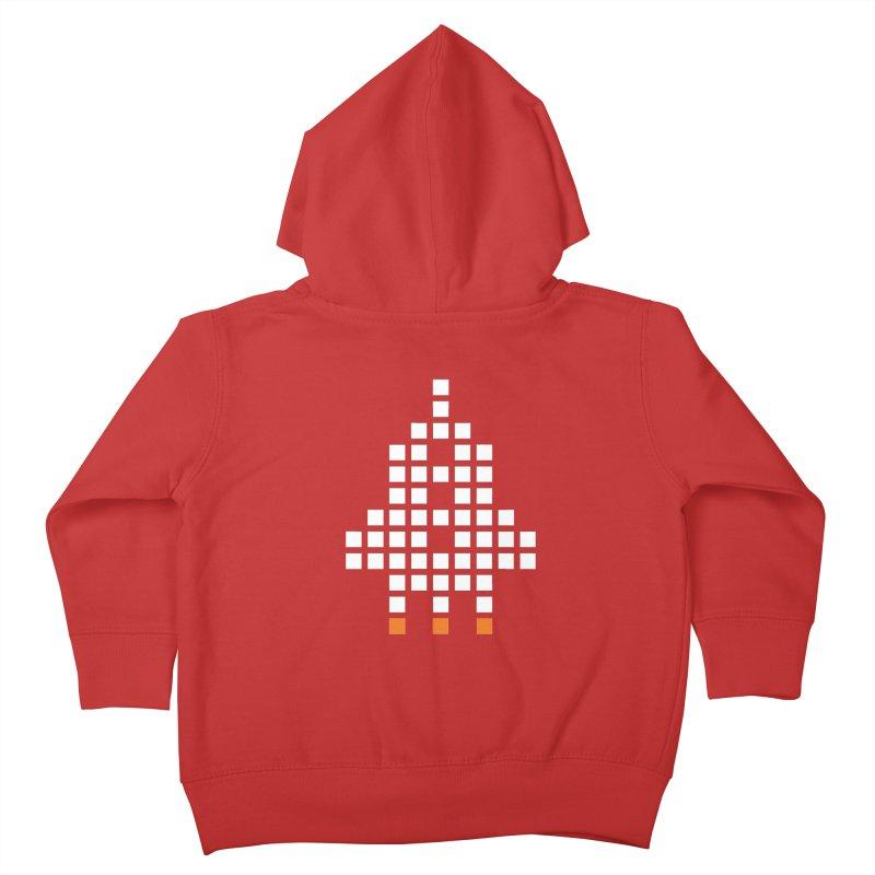 53 Squares Kids Toddler Zip-Up Hoody by grzechotnick's Artist Shop