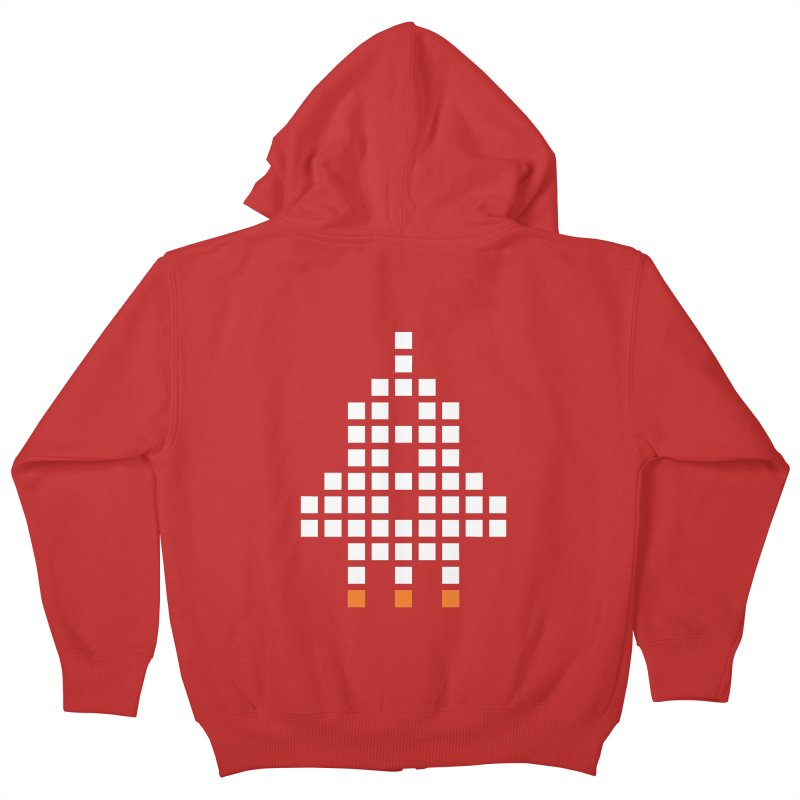 53 Squares Kids Zip-Up Hoody by grzechotnick's Artist Shop