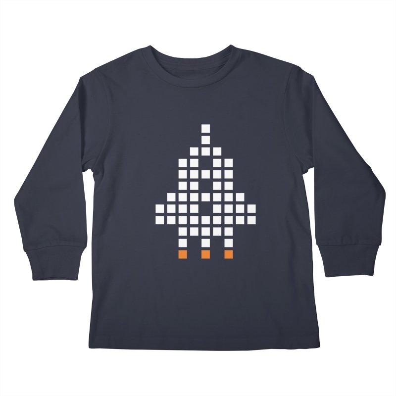 53 Squares Kids Longsleeve T-Shirt by grzechotnick's Artist Shop
