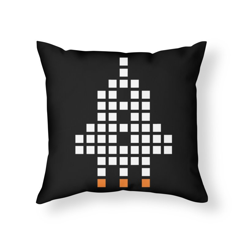 53 Squares Home Throw Pillow by grzechotnick's Artist Shop