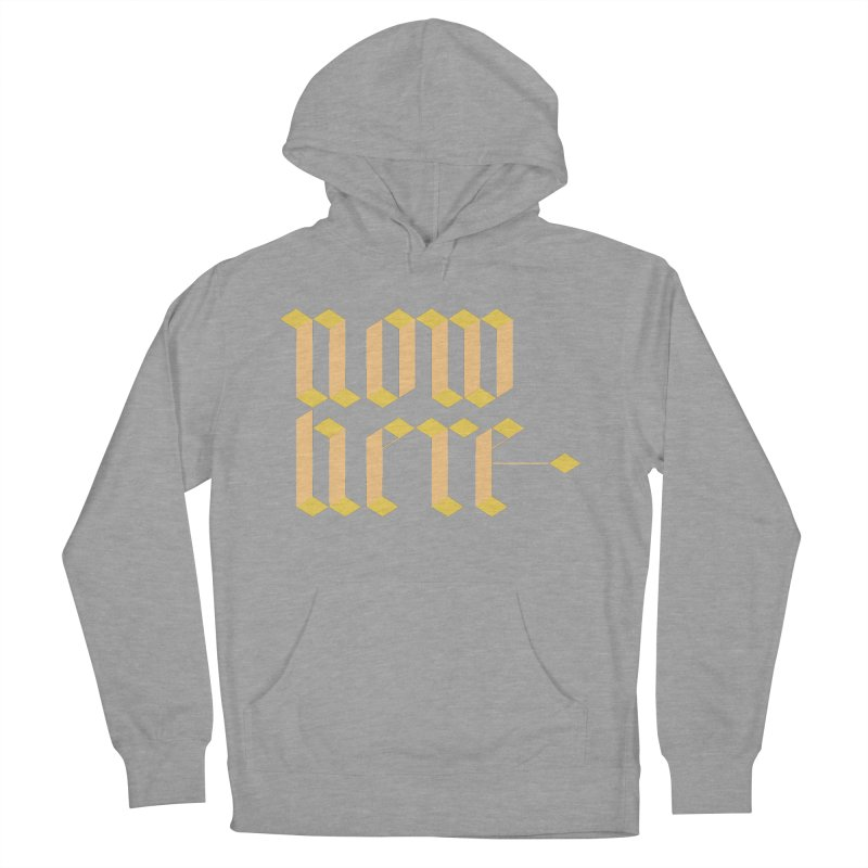 now/here Women's Pullover Hoody by grzechotnick's Artist Shop