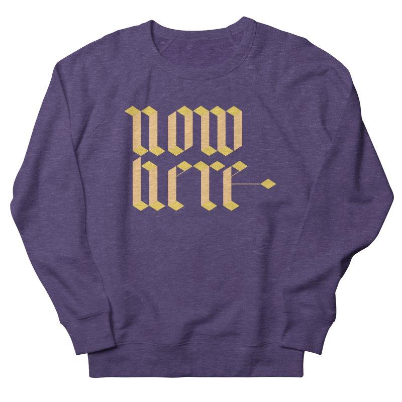 now/here Men's Sweatshirt by grzechotnick's Artist Shop