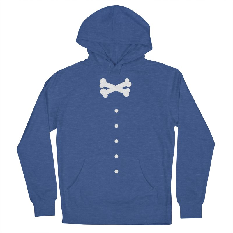 Bone Bow Tie Women's French Terry Pullover Hoody by grzechotnick's Artist Shop