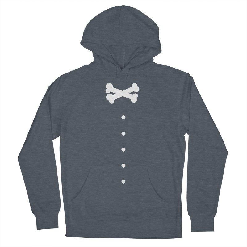 Bone Bow Tie Men's Pullover Hoody by grzechotnick's Artist Shop