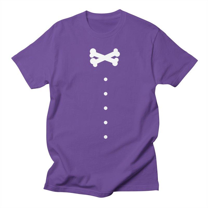 Bone Bow Tie Men's Regular T-Shirt by grzechotnick's Artist Shop