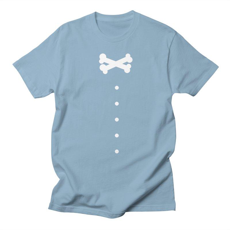 Bone Bow Tie Men's T-Shirt by grzechotnick's Artist Shop