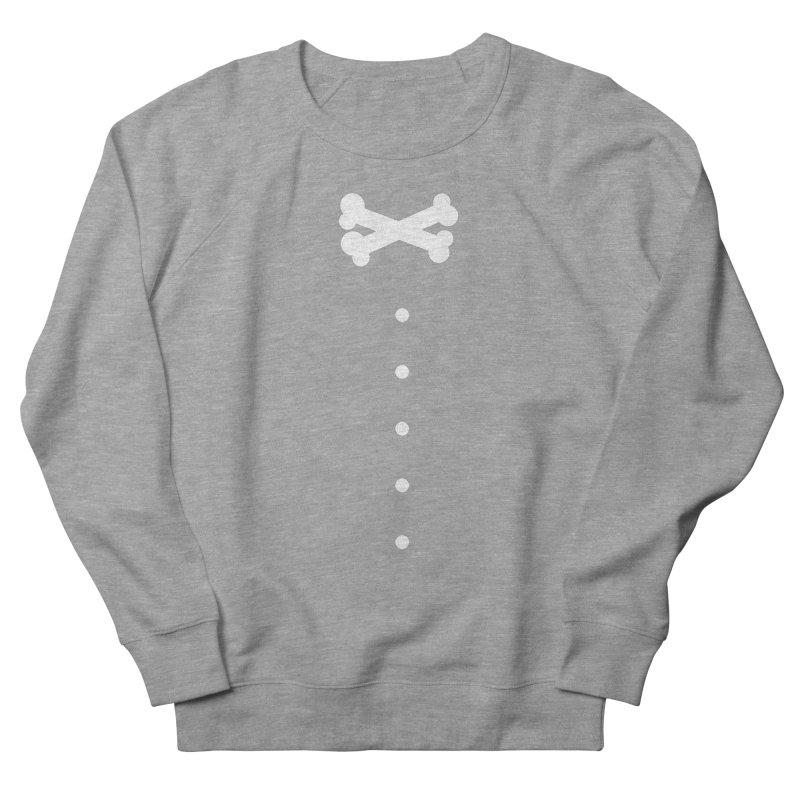 Bone Bow Tie Women's French Terry Sweatshirt by grzechotnick's Artist Shop