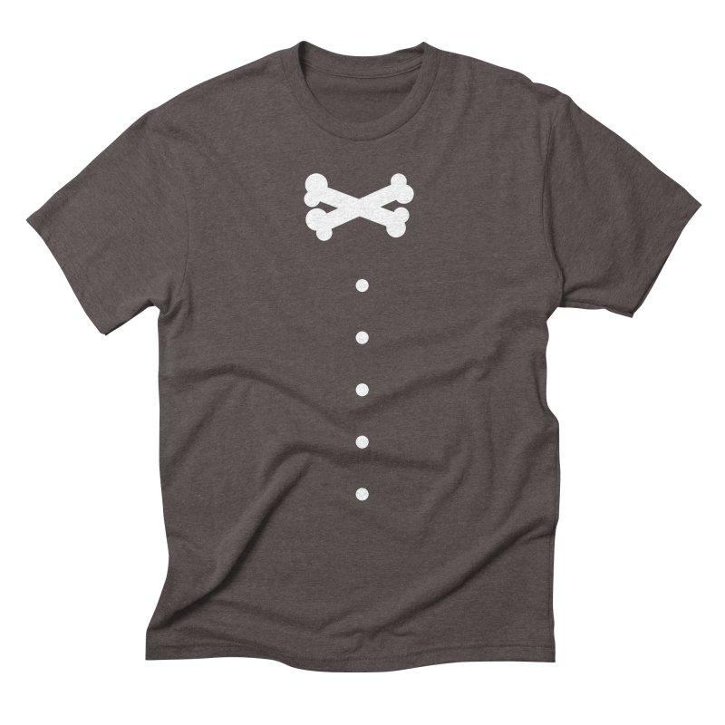 Bone Bow Tie Men's Triblend T-Shirt by grzechotnick's Artist Shop
