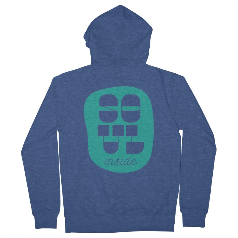 Soul (is) inside (you) Women's Zip-Up Hoody by grzechotnick's Artist Shop