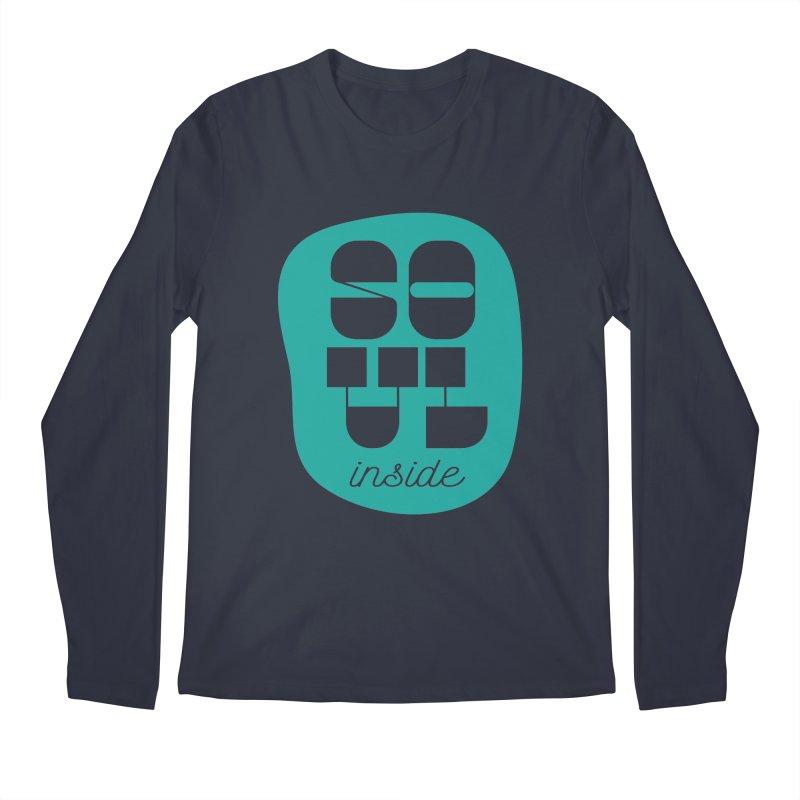 Soul (is) inside (you) Men's Regular Longsleeve T-Shirt by grzechotnick's Artist Shop