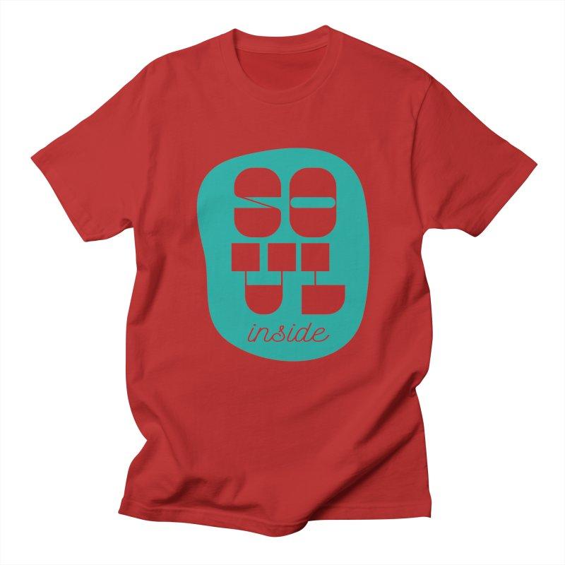 Soul (is) inside (you) Men's T-shirt by grzechotnick's Artist Shop