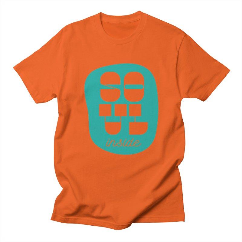 Soul (is) inside (you) Men's Regular T-Shirt by grzechotnick's Artist Shop