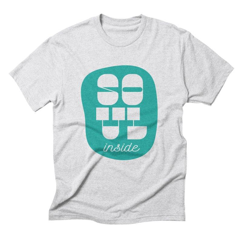 Soul (is) inside (you) Men's Triblend T-shirt by grzechotnick's Artist Shop
