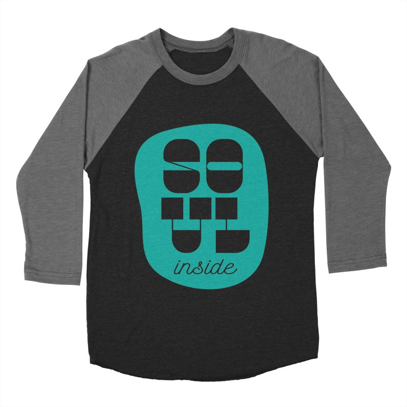 Soul (is) inside (you) Women's Baseball Triblend Longsleeve T-Shirt by grzechotnick's Artist Shop