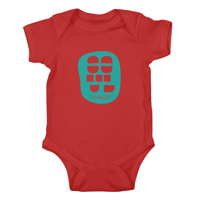 Soul (is) inside (you) Kids Baby Bodysuit by grzechotnick's Artist Shop