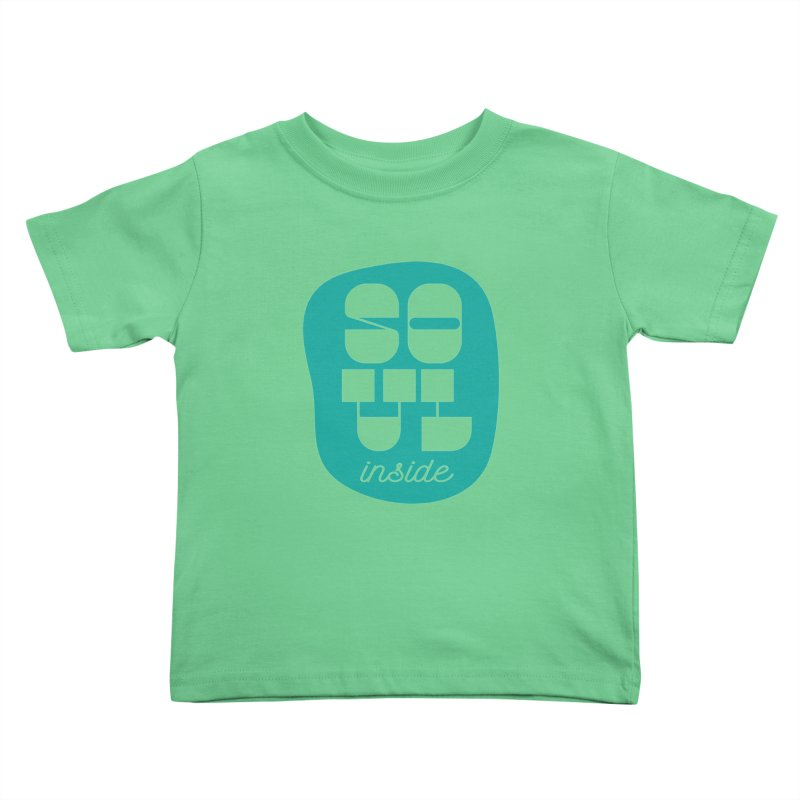 Soul (is) inside (you) Kids Toddler T-Shirt by grzechotnick's Artist Shop