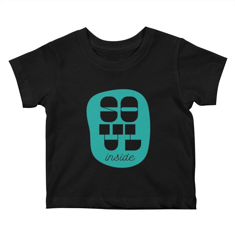 Soul (is) inside (you) Kids Baby T-Shirt by grzechotnick's Artist Shop