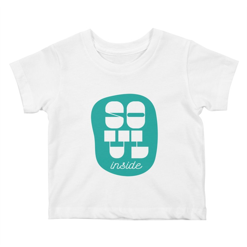 Soul (is) inside (you) Kids Baby T-Shirt by grzechotnick's Artist Shop