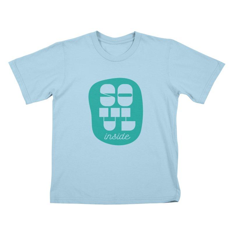 Soul (is) inside (you) Kids T-Shirt by grzechotnick's Artist Shop
