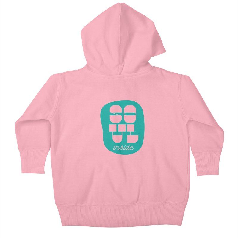 Soul (is) inside (you) Kids Baby Zip-Up Hoody by grzechotnick's Artist Shop