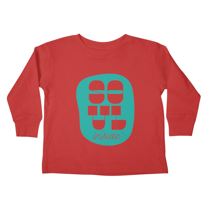 Soul (is) inside (you) Kids Toddler Longsleeve T-Shirt by grzechotnick's Artist Shop