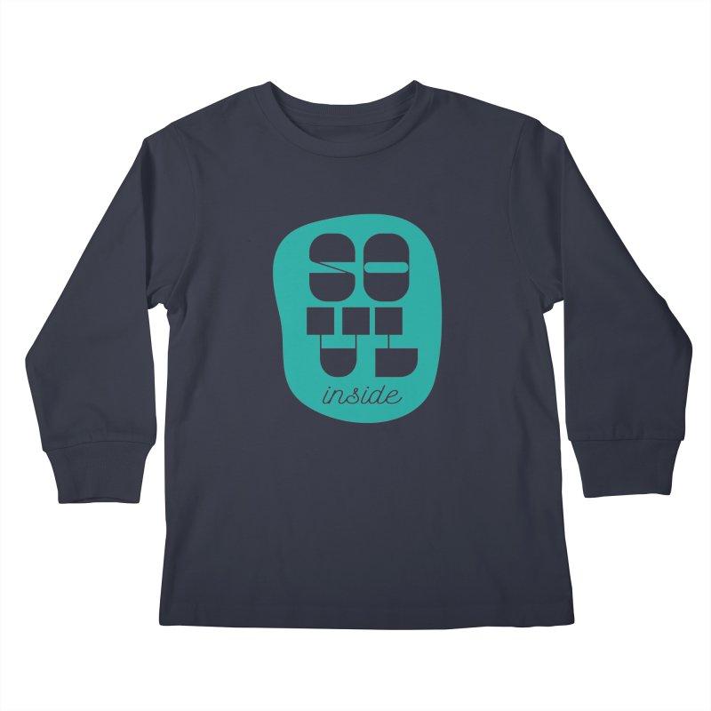 Soul (is) inside (you) Kids Longsleeve T-Shirt by grzechotnick's Artist Shop
