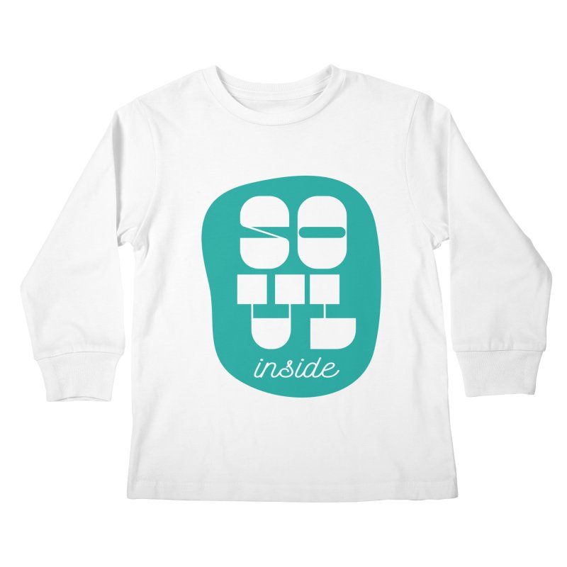 Soul (is) inside (you) Kids Longsleeve T-Shirt by grzechotnick's Artist Shop