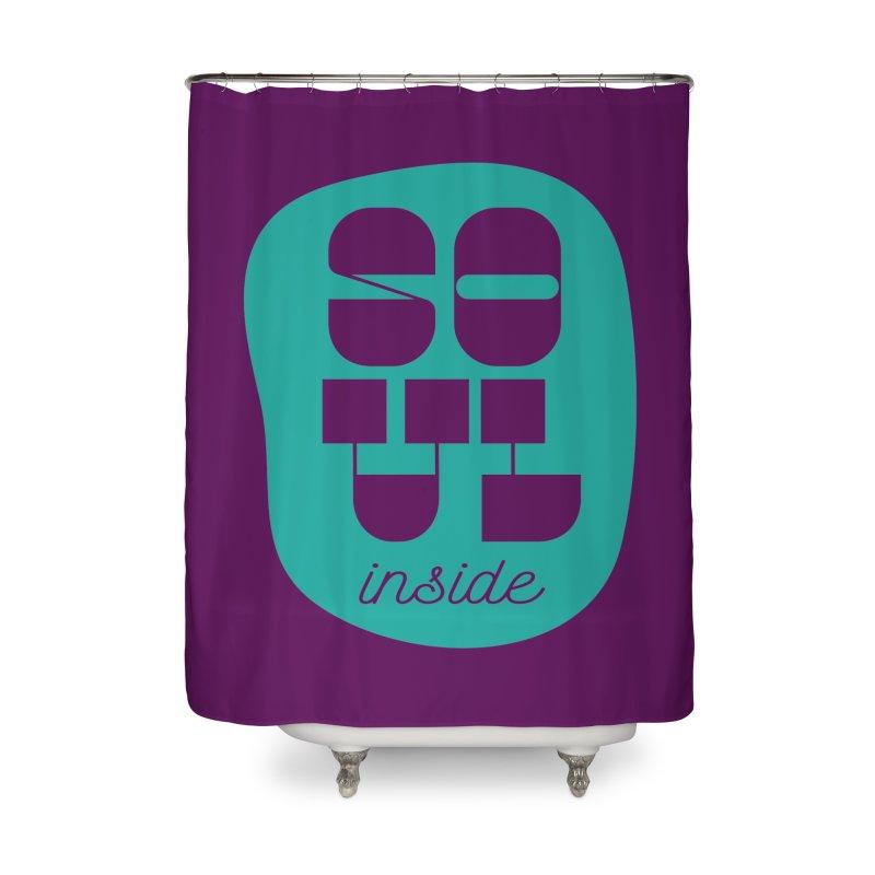 Soul (is) inside (you) Home Shower Curtain by grzechotnick's Artist Shop